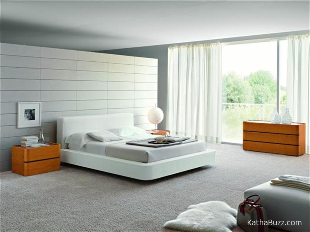 Image of: White Contemporary Luxury Bedding Decor