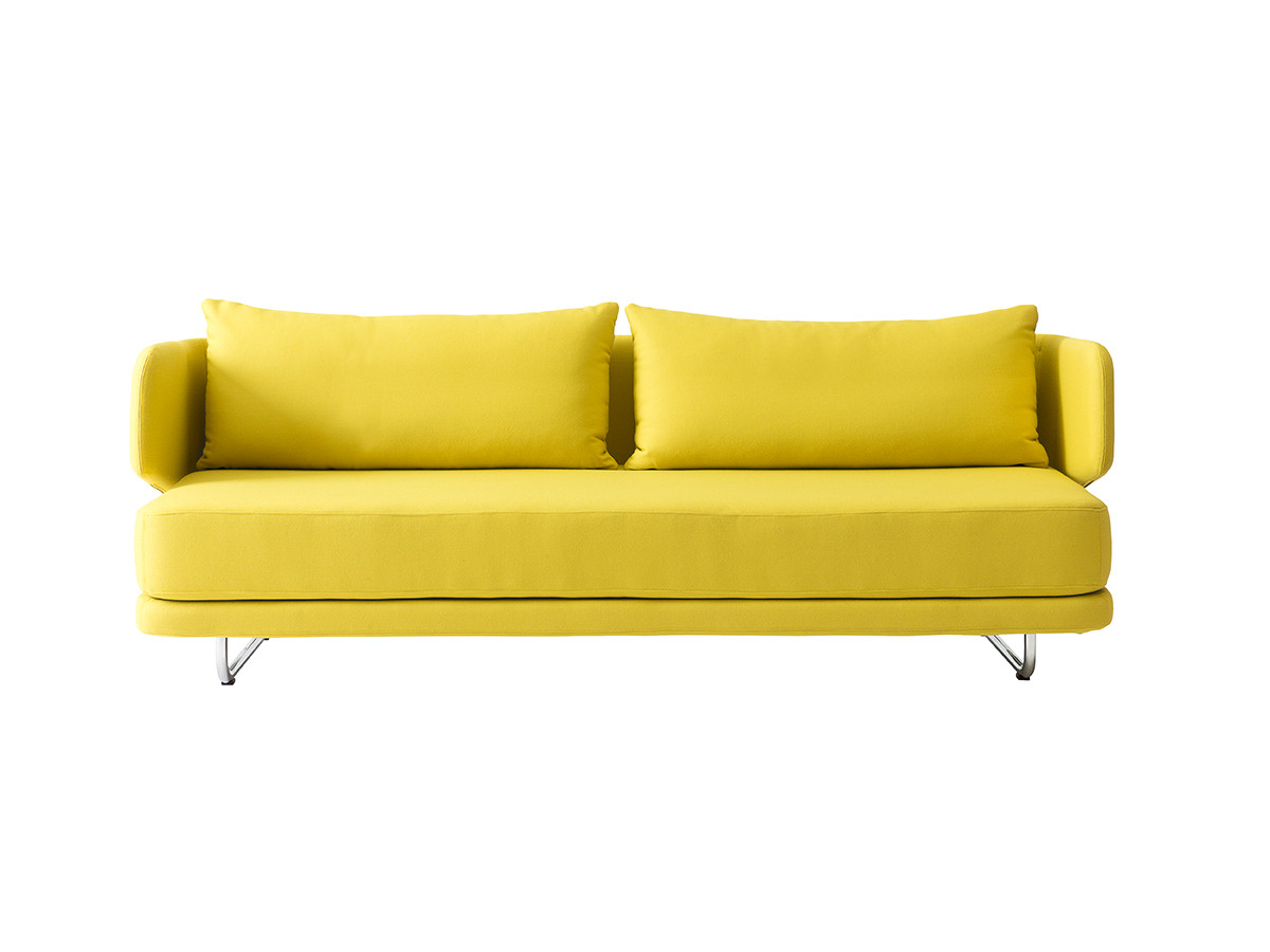Image of: Yellow Contemporary Sofa Bed