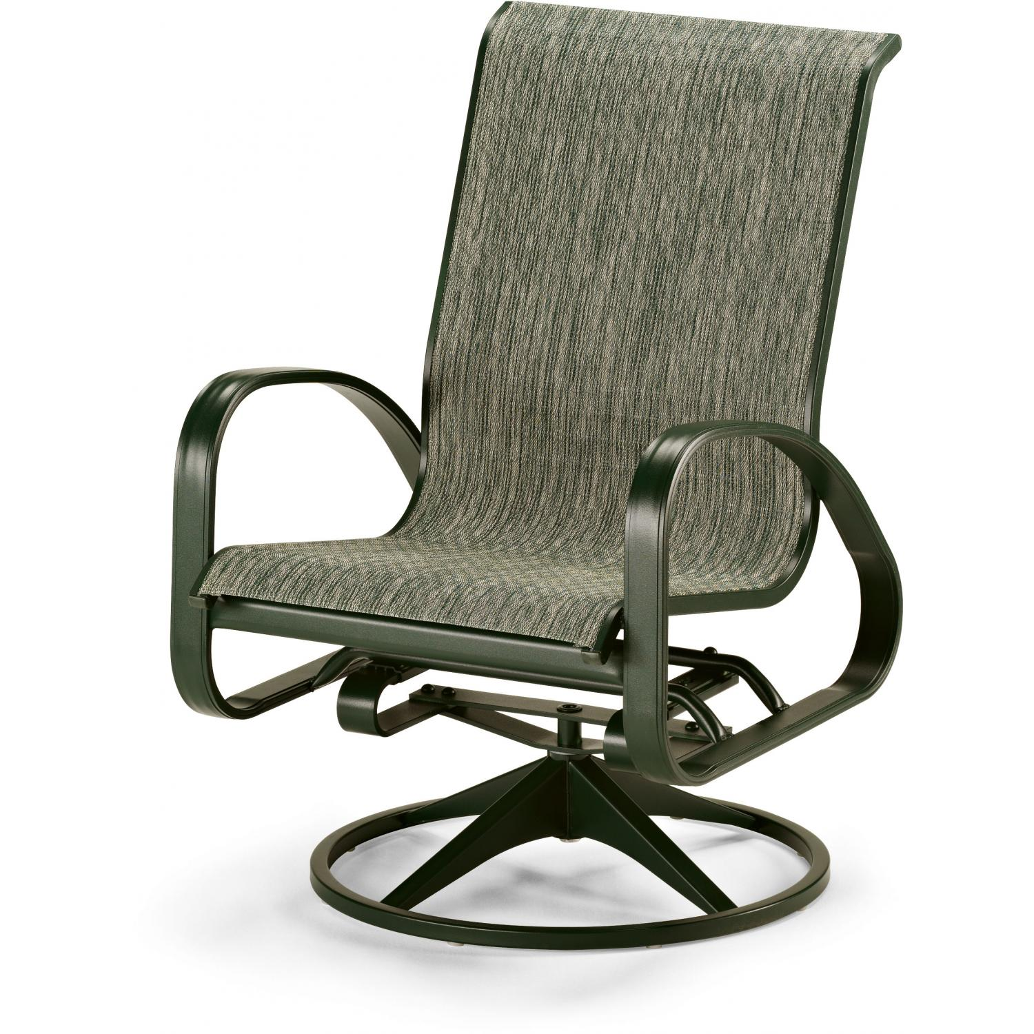 Image of: Amazing Swivel Patio Chair