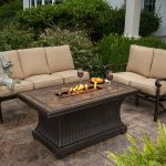 Garden and Patio Furniture with Fire Pit