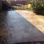 Good Stained Concrete Patio