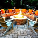 Ideas Patio Furniture with Fire Pit
