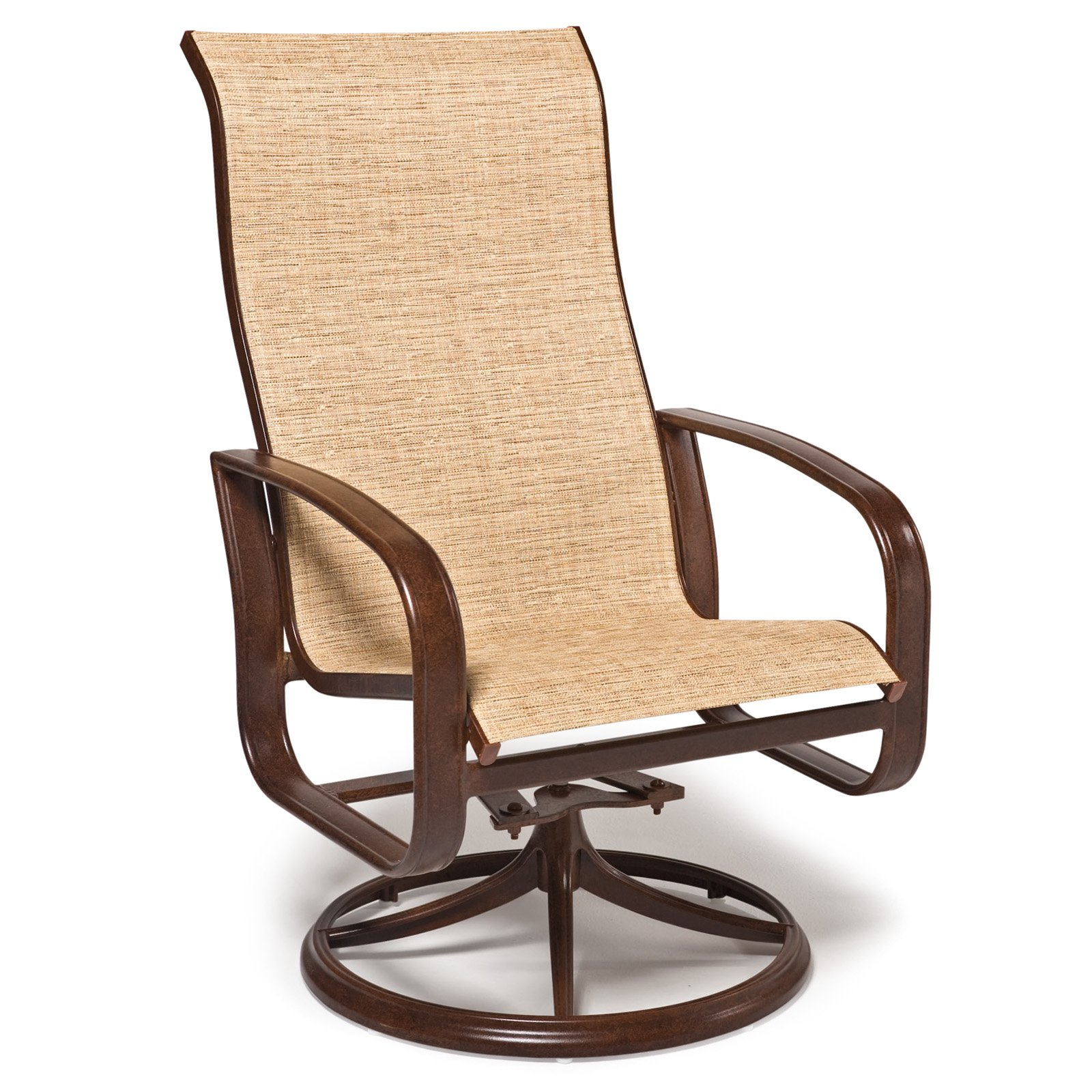 Image of: Luxury Swivel Patio Chair