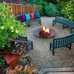 Patio Furniture with Fire Pit Designs