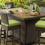 Patio Furniture with Fire Pit Table Dining