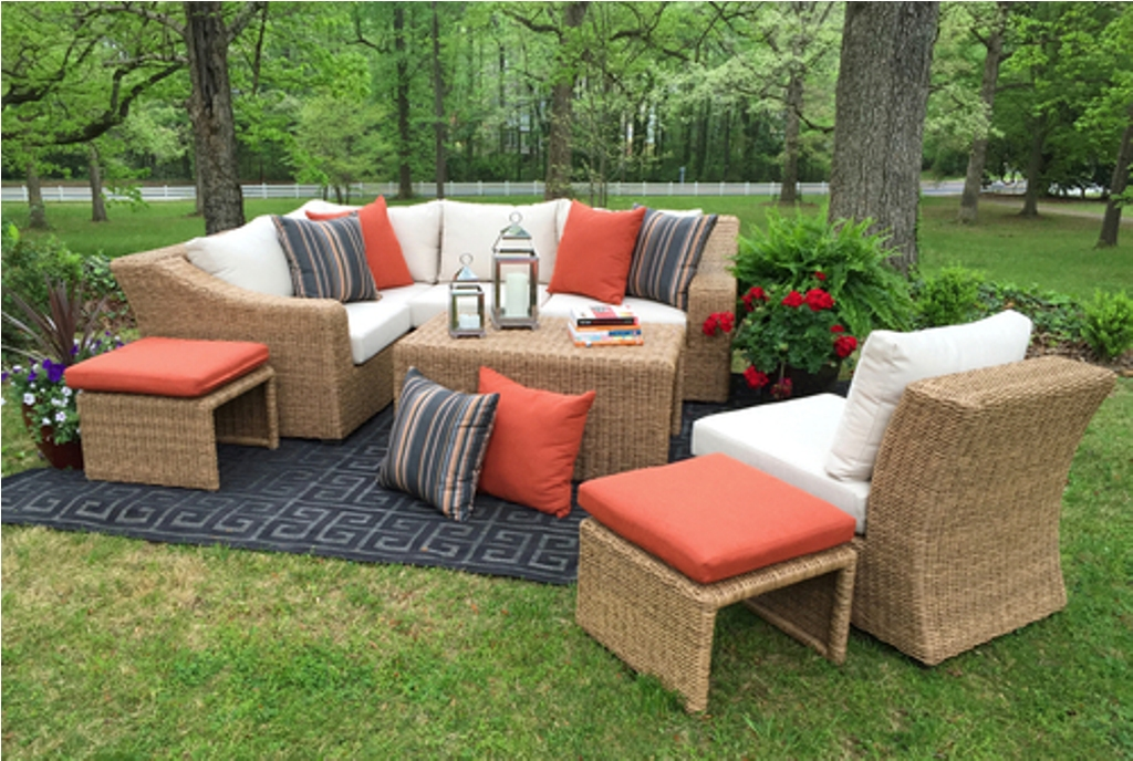 Image of: Sectional Patio Furniture Covers