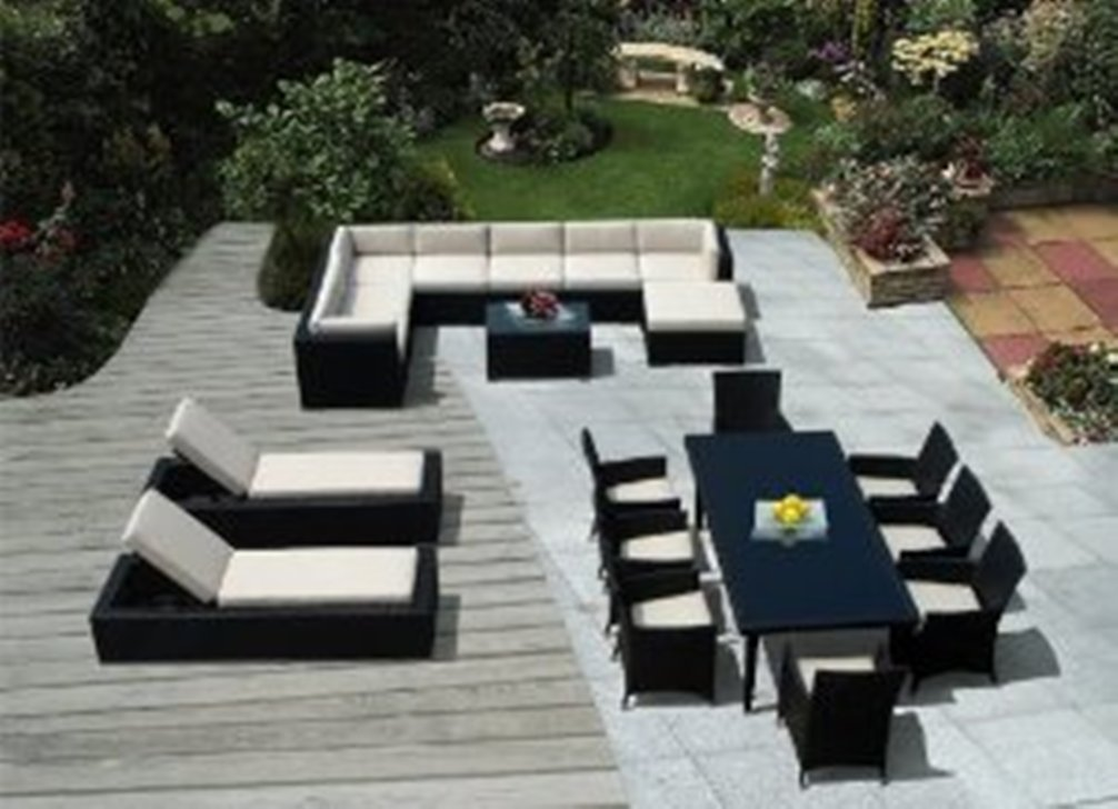 Image of: Sectional Patio Furniture Ideas
