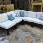 Sectional Patio Furniture with Fire Table