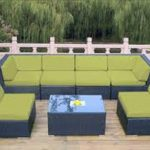 Sectional Patio Furniture with Sunbrella