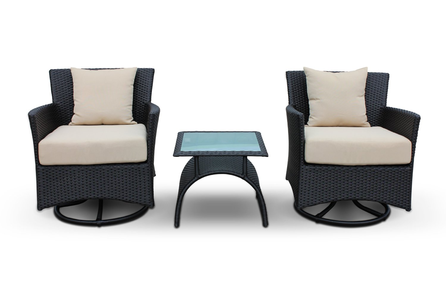 Image of: Swivel Patio Chair Sets
