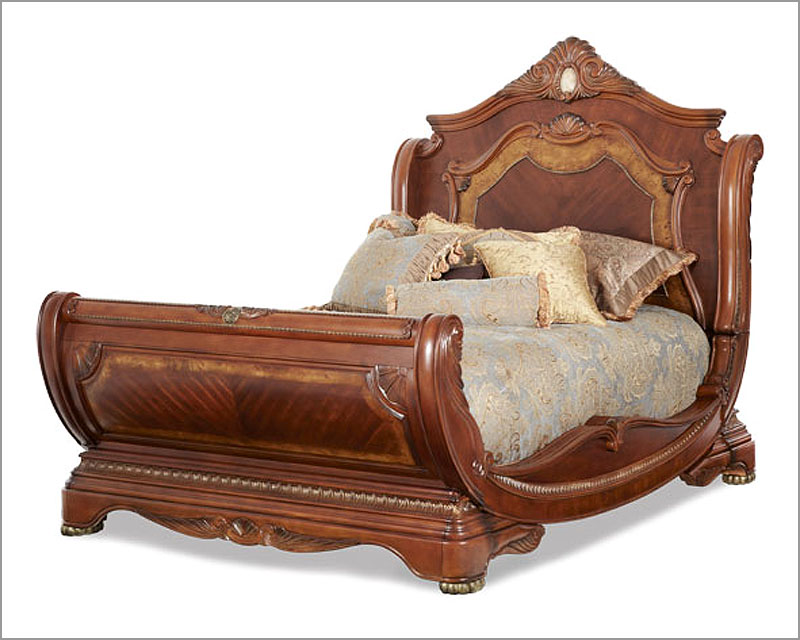 Amazing Sleigh Bed King