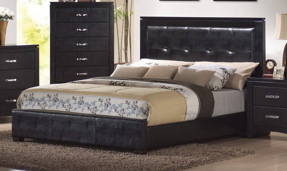 Image of: Beauty Cal King Bed Frame