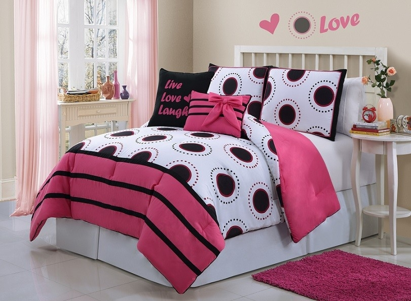 Image of: Beauty Bedding Sets for Teens Girls