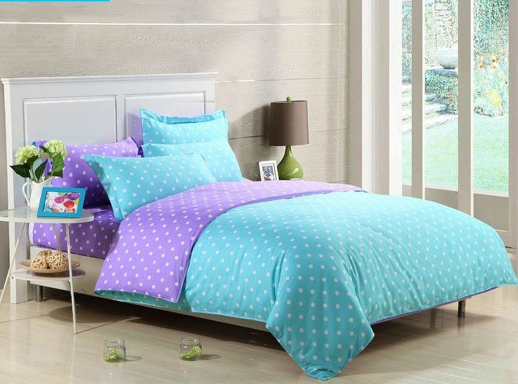 Image of: Blue Cute Teen Bedding