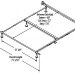 Cal King Size Bed Frame Dimensions