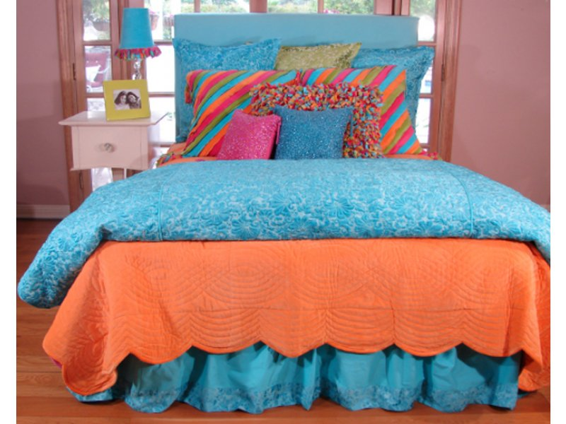 Image of: Caribe Teen Bedding for Girls