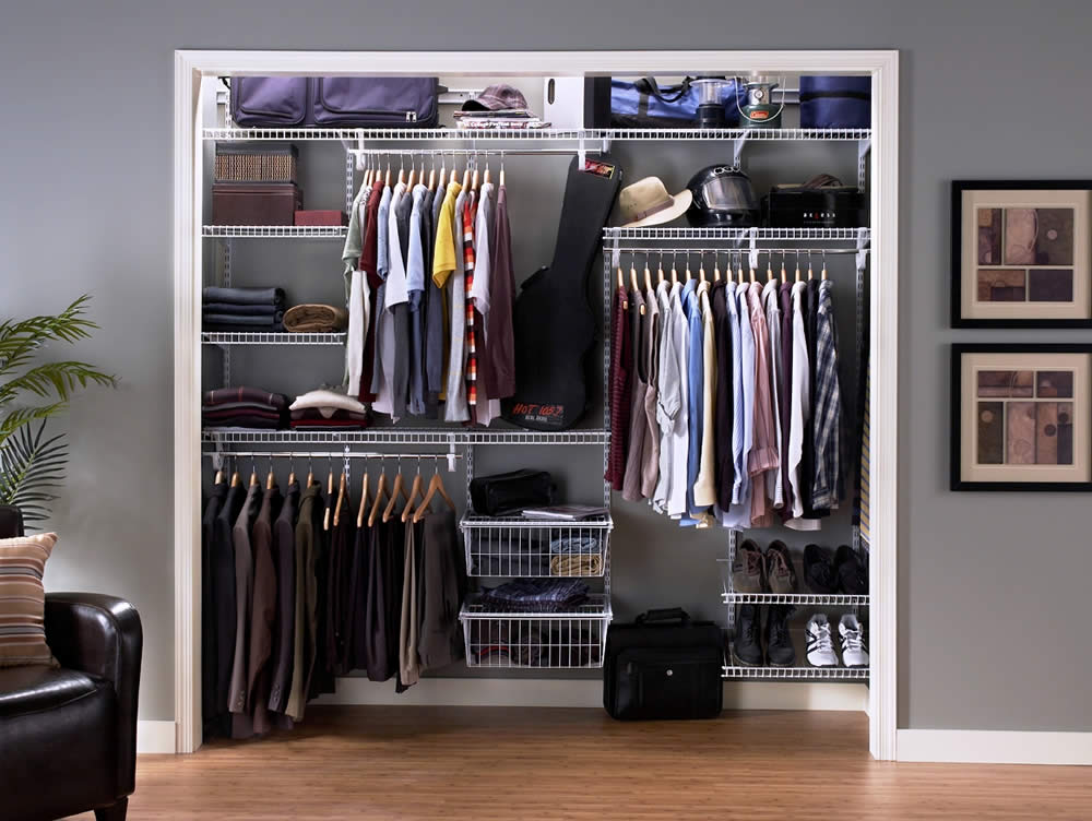 Image of: Closet Storage Units Large