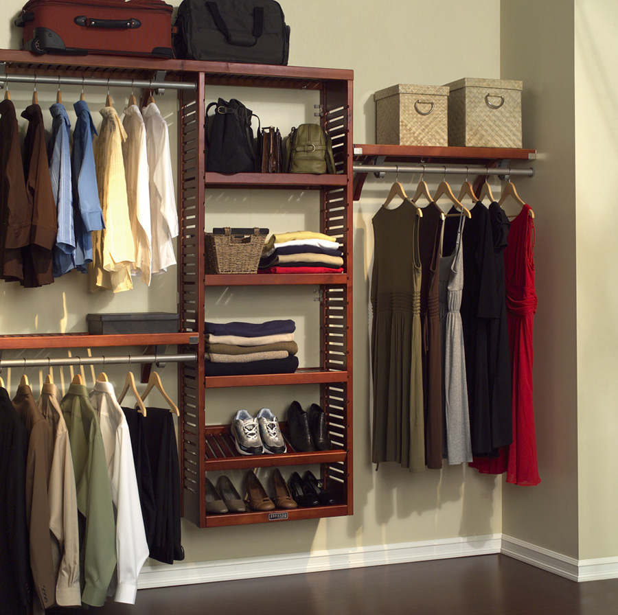 Image of: Closet Storage Units Tips