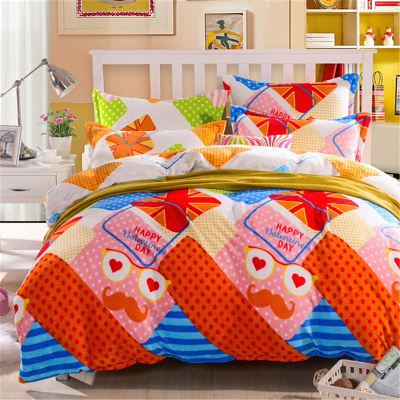 Image of: Colorful Bedding Sets for Teens