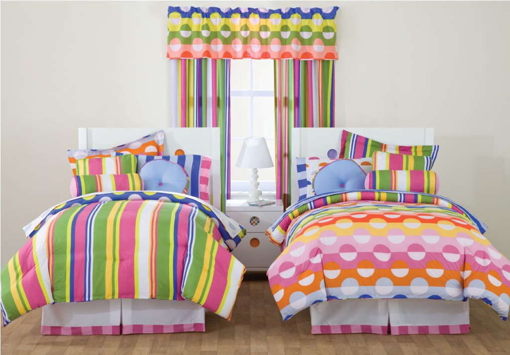 Image of: Colorfull Teens Bedding