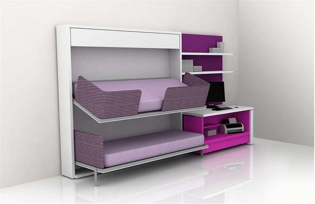Image of: Contemporary Cool Teen Beds