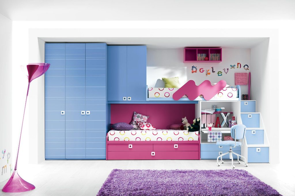 Image of: Cool Teen Beds for Girl