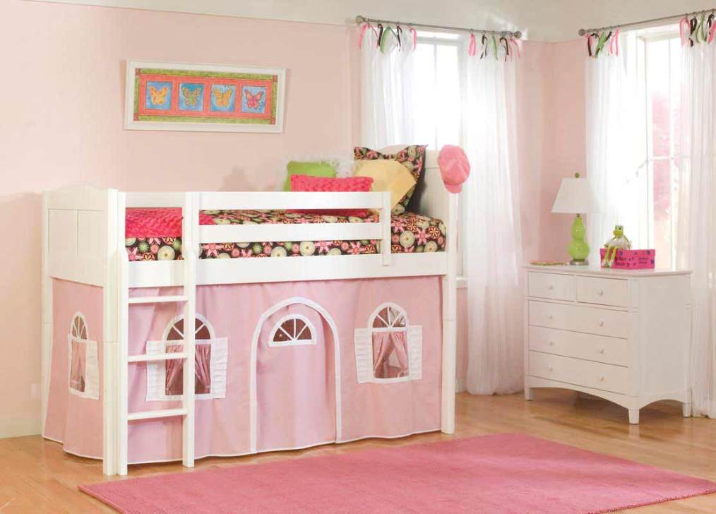 Image of: Cottage Teen Girl Beds