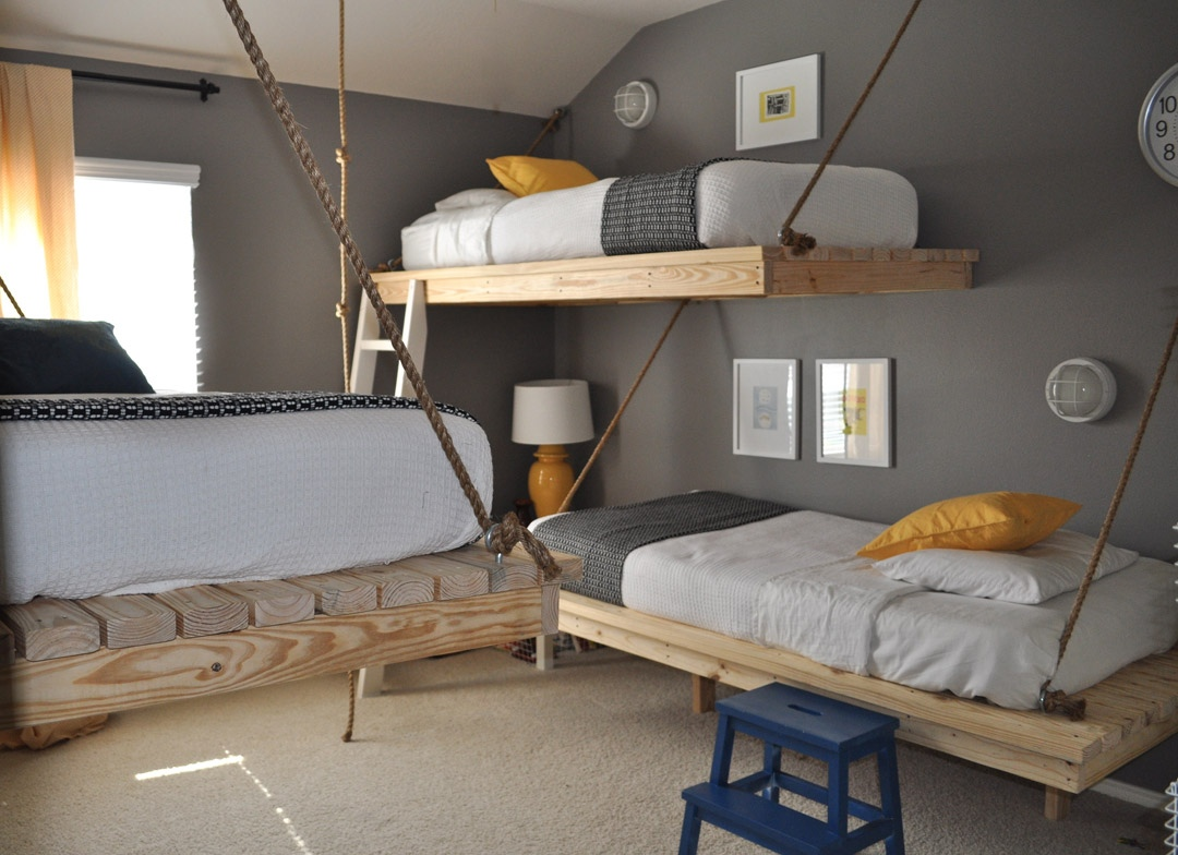 Image of: Creative Cool Teen Beds