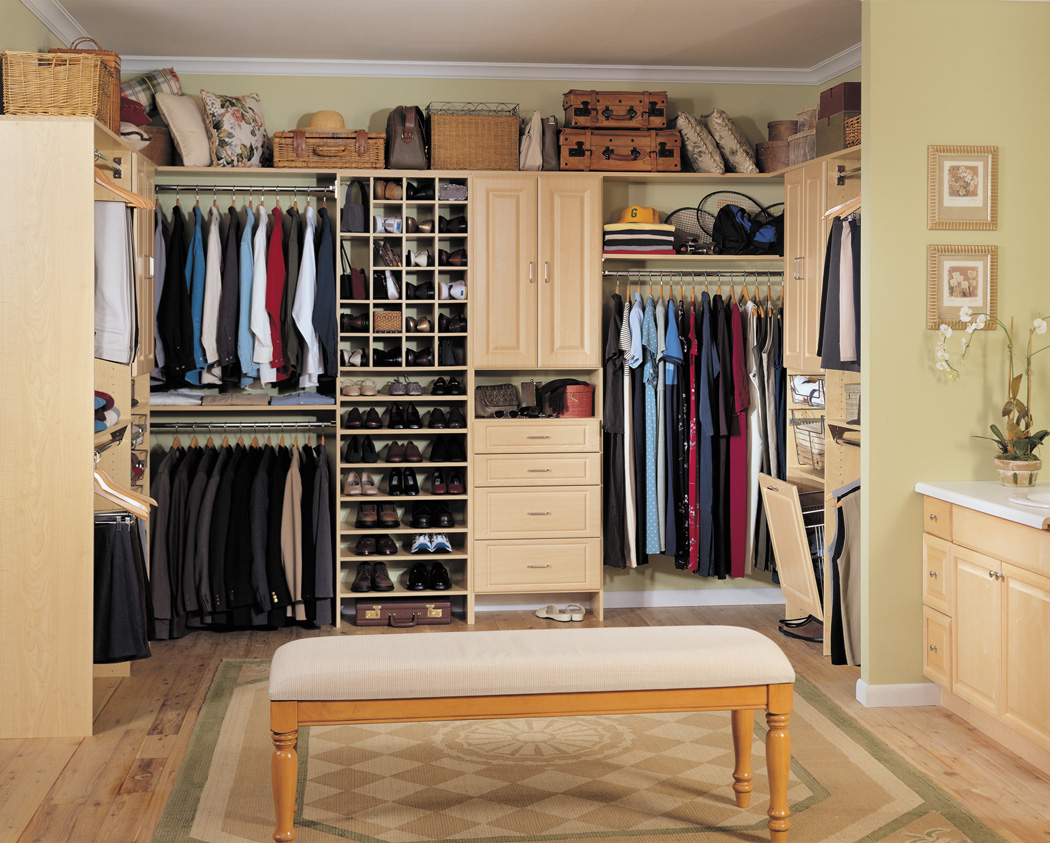 Image of: Decorations Closet Storage Units