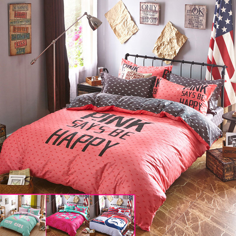 Image of: Fabric of Bedding Sets for Teens