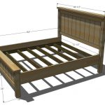 Full King Size Bed Frame Dimensions in Inches