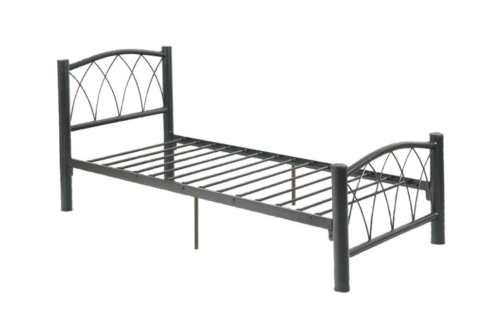 Image of: King Metal Bed Frame Twin