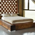 King Size Bed Frames Dimension for Queen