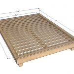 King Size Bed Frame Dimensions for a Dorm Bed