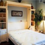 King Size Murphy Bed Desk Combo