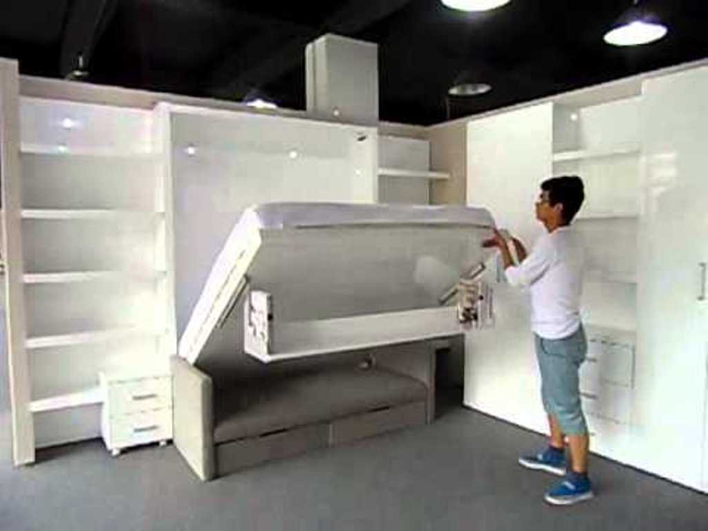 Image of: King Size Murphy Bed Dimensions