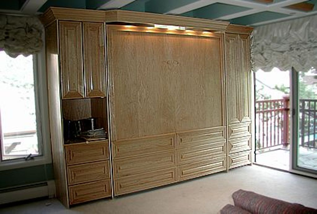 Image of: King Size Murphy Bed Frame