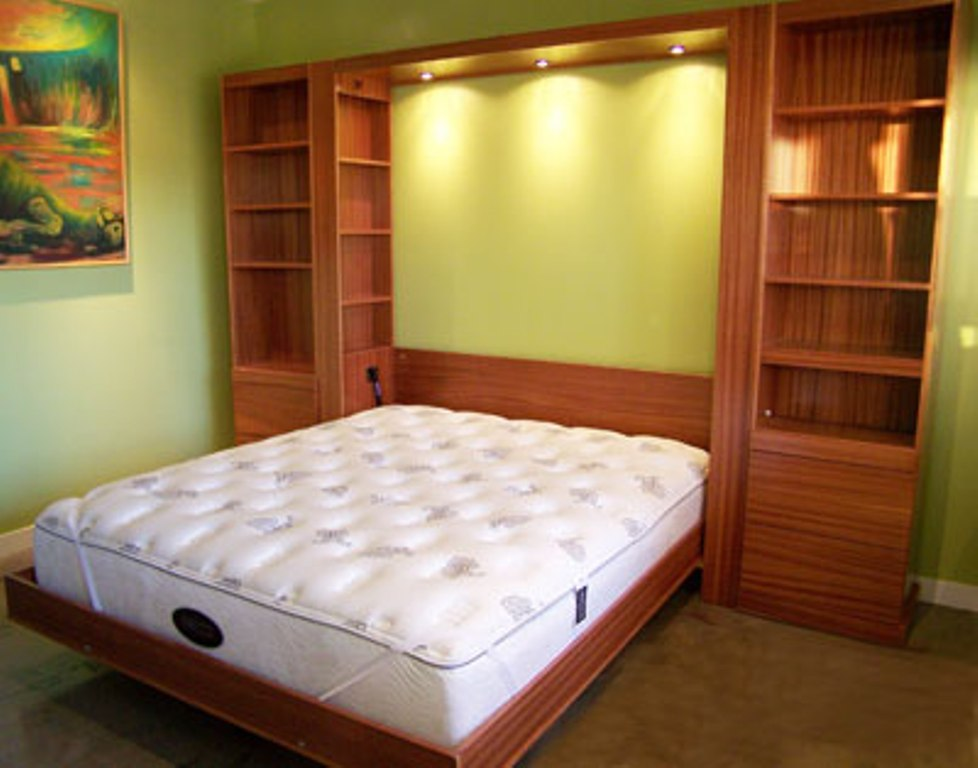Image of: King Size Murphy Bed Mechanism