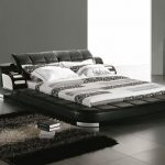 King Sized Bed Leather