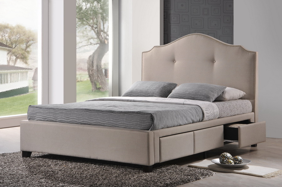King Sized Bed Material