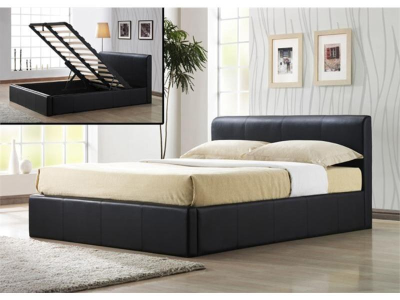 Image of: King Sized Bed Storage