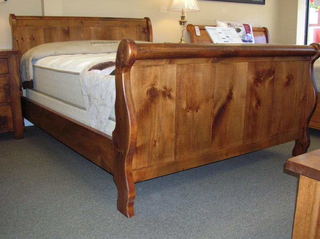Image of: King Sleigh Bed Ideas