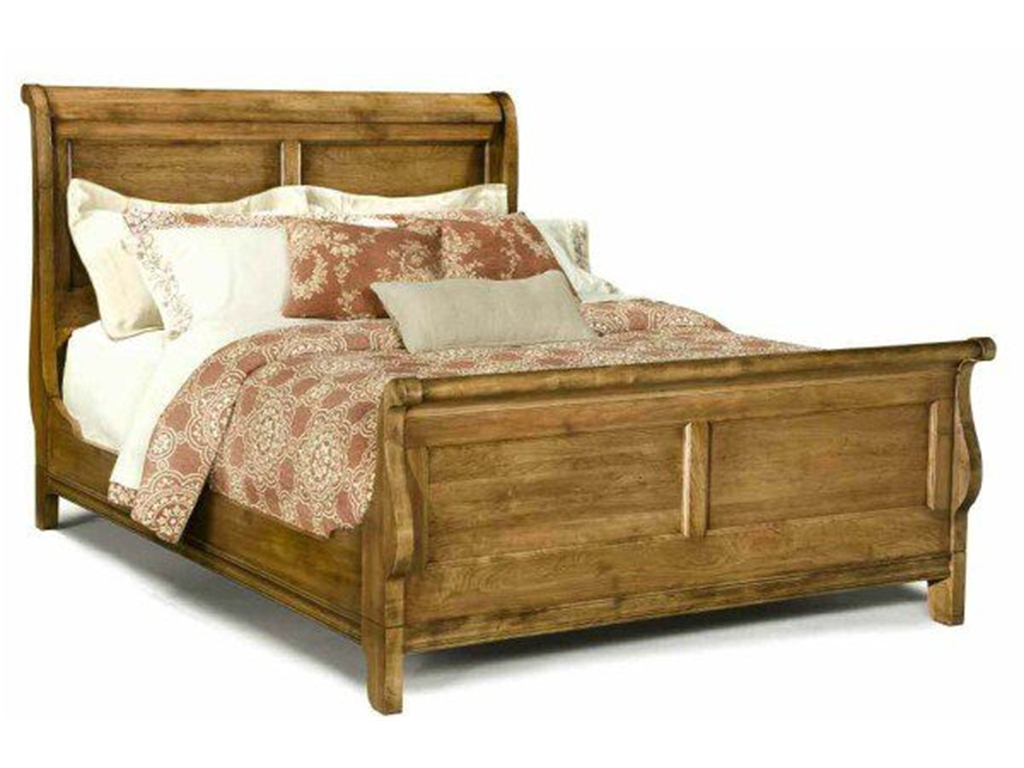King Sleigh Bed Style