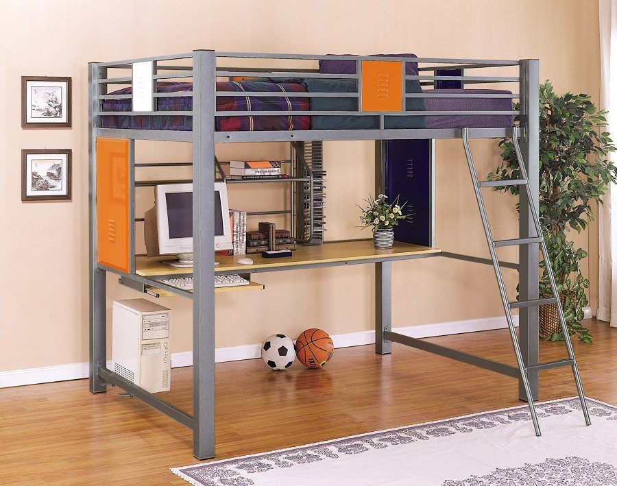 Image of: Loft Beds for Teens Trends
