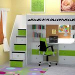 Loft Beds for Teens with Stair