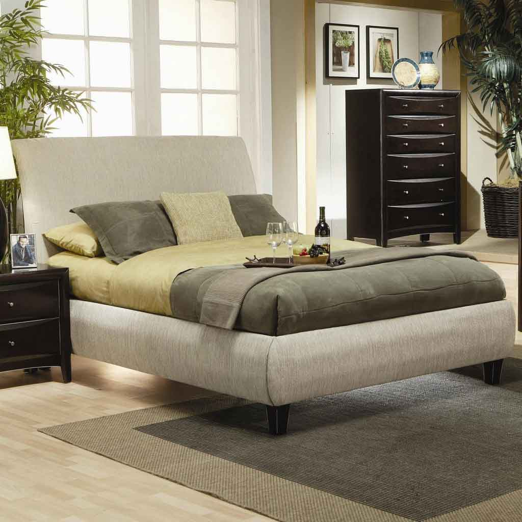 Image of: Luxury Cal King Bed Frame
