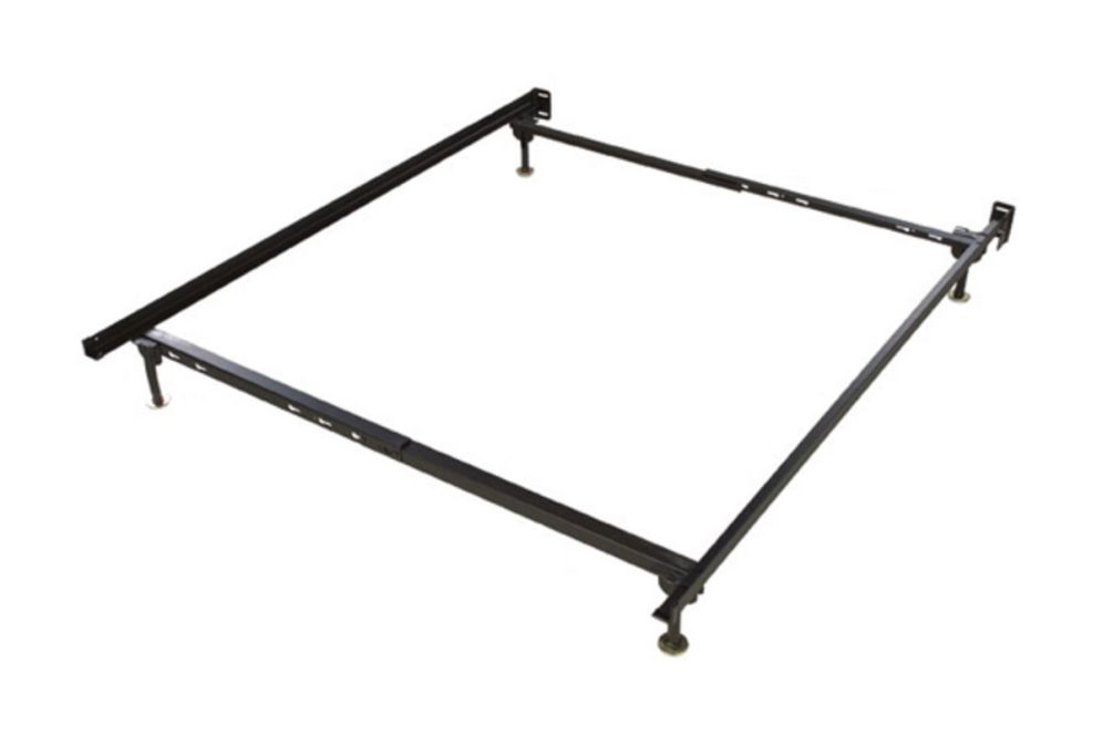 Image of: Metal Bed Frame Twin Full Size