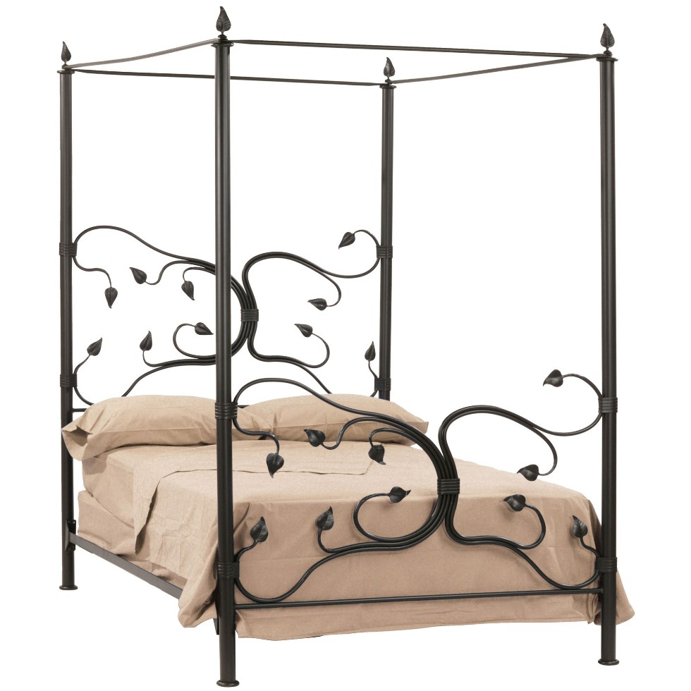 Image of: Metal Bed Frame Twin Inspired