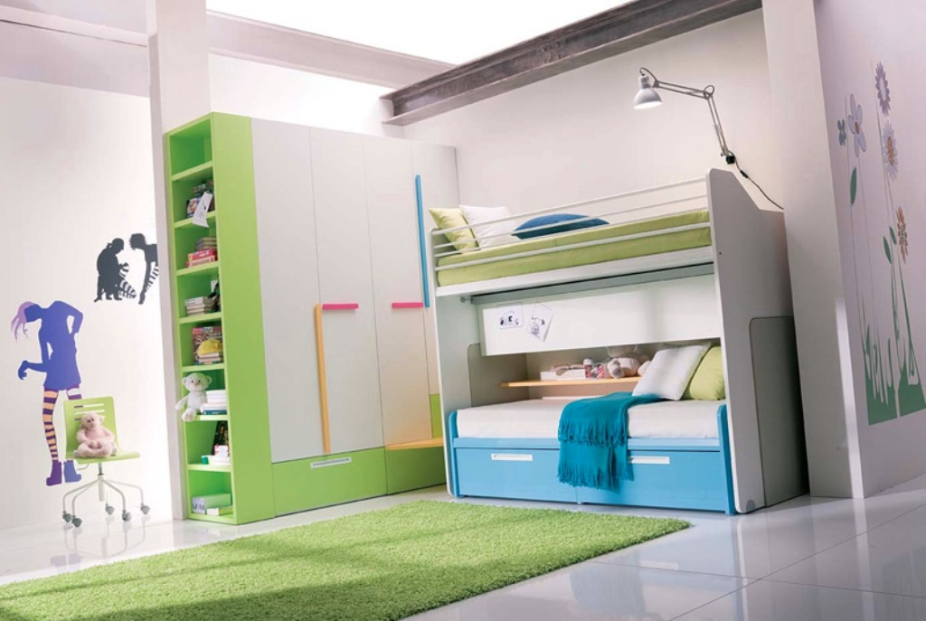 Image of: Modern Bunk Beds for Teens