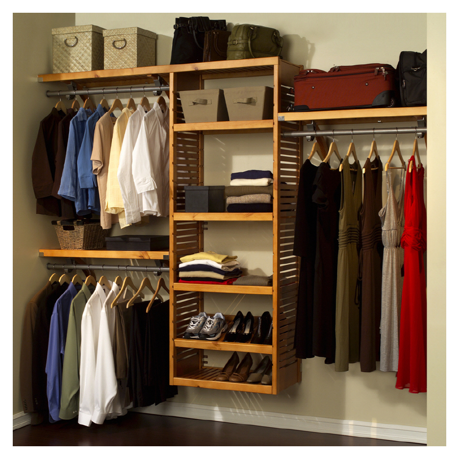 Image of: Netral Closet Storage Units